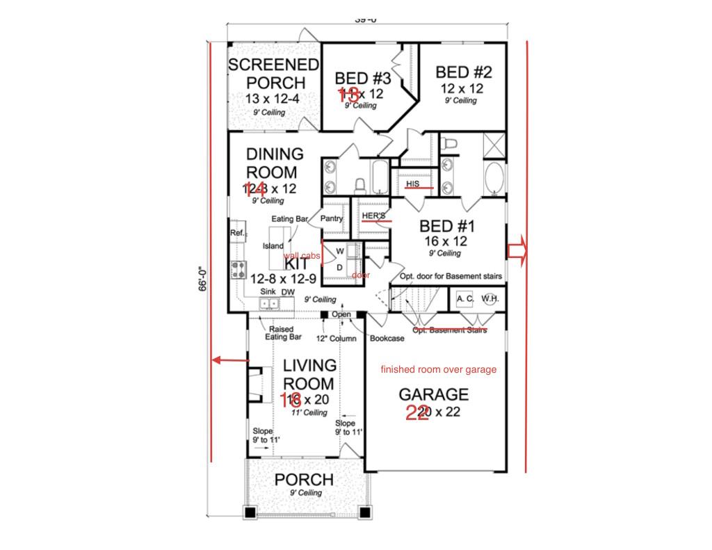 East bay Floor Plan